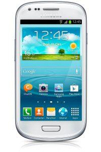 Samsung I8190 Galaxy S III Mini behind