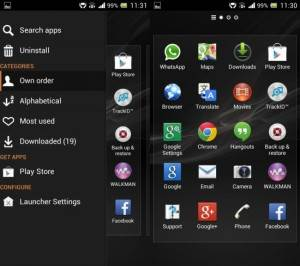Xperia Launcher 3.0.0 APK For All Android Phones