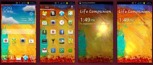 galaxy note 3launcher