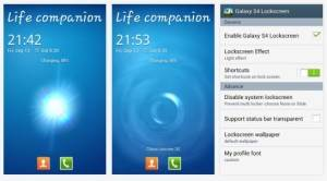 Galaxy S4 Lockscreen For Android ICS And Jelly Bean