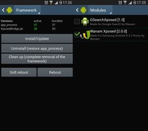 Easy Customize Stock Samsung Roms 4.2 With Wanam Xposed