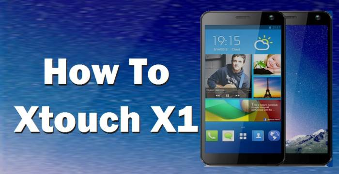 How To Root Xtouch x1 Without PC 1