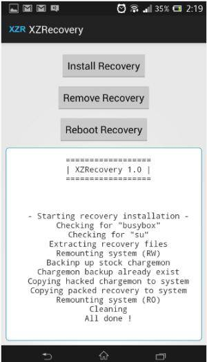 Easy Way To Install TWRP on Xperia Z Without Unlocking Bootloader 4