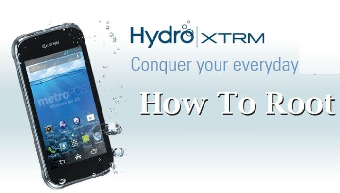 How To Root Kyocera Hydro XTRM