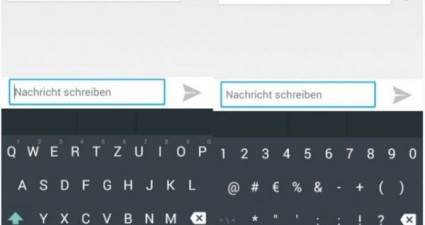keyboard android L