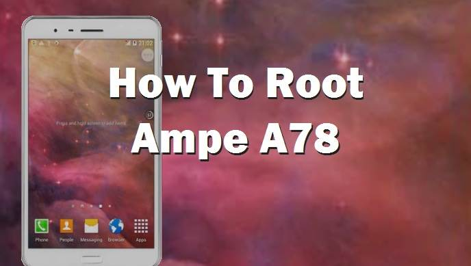 Root Ampe A78 Tablet PC