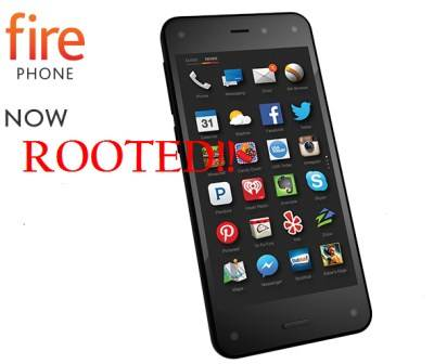 Fire Phone rooted