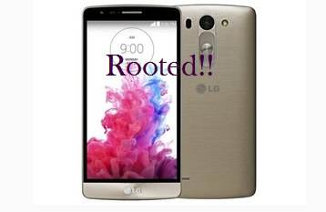LG D722K rooted