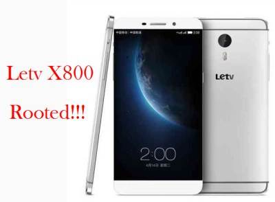 Letv Le One Pro X800 root