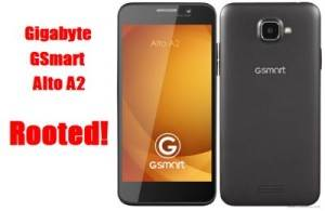 Root Gigabyte GSmart Alto A2 Without Computer