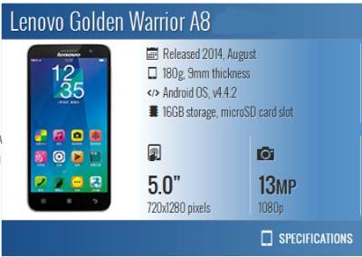 Lenovo Golden Warrior A8 root