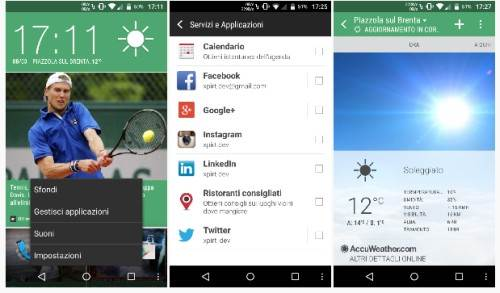 HTC Sense 6 Blinkfeed