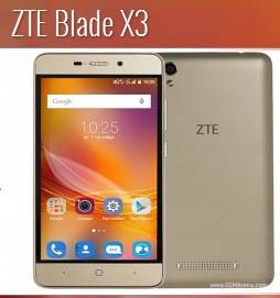 zte blade x3 rooted