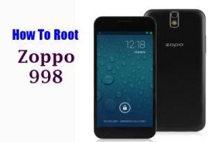How To Root ZOPO 998 Without PC