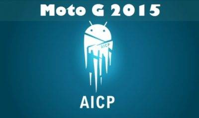 Moto G 2015 (OSPREY) With AICP ROM 12.1 Official Based On Android Nougat 7.1.1