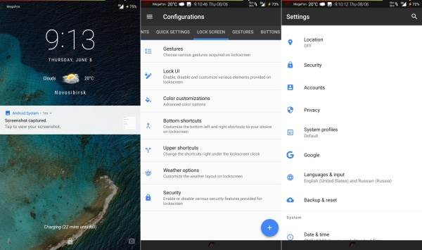 Resurrection Remix Android 7.1.2 Nougat ROM For Xperia M2 6