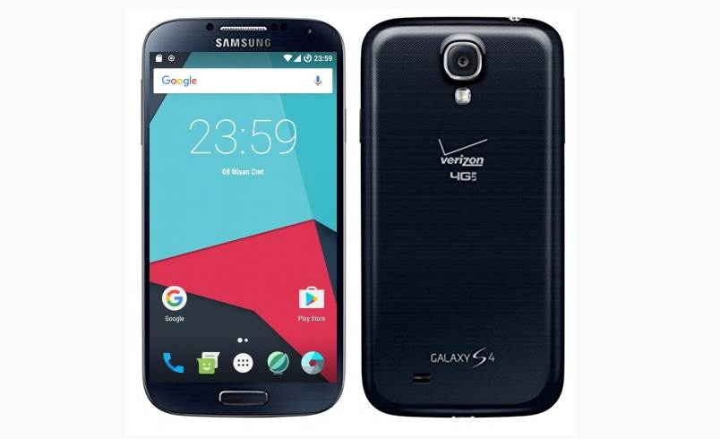 LineageOS 14 Andorid 7.1.2 Nougat ROM For Samsung Galaxy S4 Verizon 1