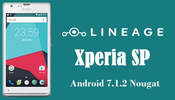 LineageOS 14 Nougat ROM For Xperia SP 1