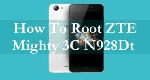 How To Root ZTE Mighty 3C N928Dt Without PC 9