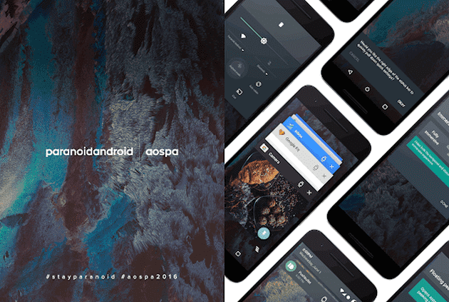 Paranoid Android 7.1.2 Nougat ROM For Nexus 5X