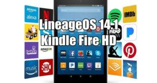 Install LineageOS 14.1 Android 7.1.2 Nougat ROM On Kindle Fire HD 7 (tate) 2