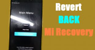 How to Return Stock MI Recovery Redmi Note 6 Pro (Tulip) 1