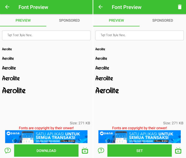 Customize Samsung Font and Use It More Comfortable 3