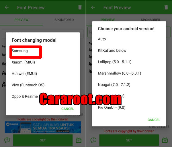 Customize Samsung Font and Use It More Comfortable 4