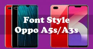 How To Change Font Style Oppo A5s And Oppo A3s 3