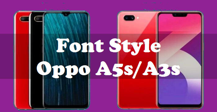 How To Change Font Style Oppo A5s And Oppo A3s 1
