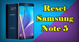 How To Reset Samsung Note 5